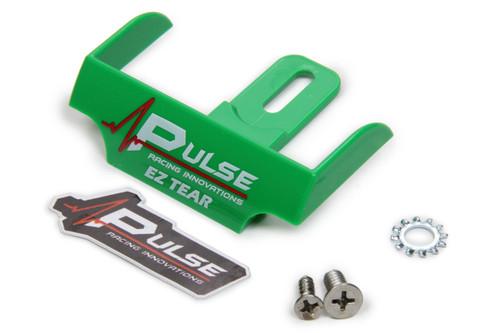 Pulse Racing Innovations EZTS101GR EZ Tear Shield Mounted Green