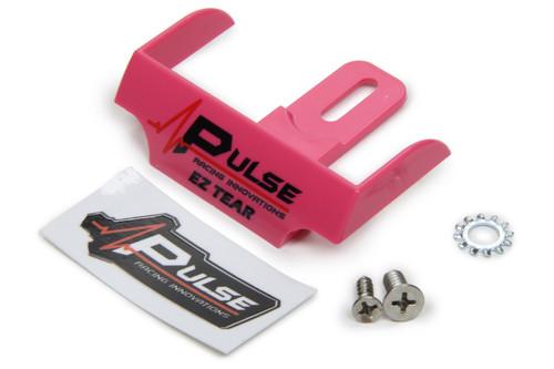 Pulse Racing Innovations EZTS101PNK EZ Tear Shield Mounted Pink