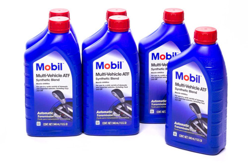 Mobil 1 123034 ATF Oil Multi-Vehicle Case 6x1 Qt.