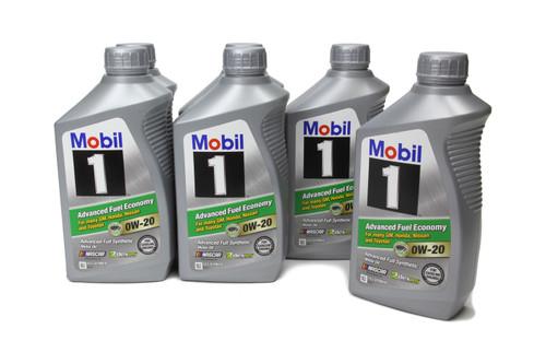 Mobil 1 124184 0W20 AFE Oil Case 6x1 Qt