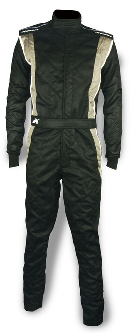 Impact Racing 25215613 Suit Phenom X-Large Black / Gray