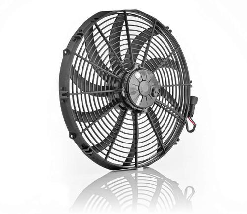 Be-Cool Radiators 75068 16in Euro Black Electric Fan Super Duty Puller
