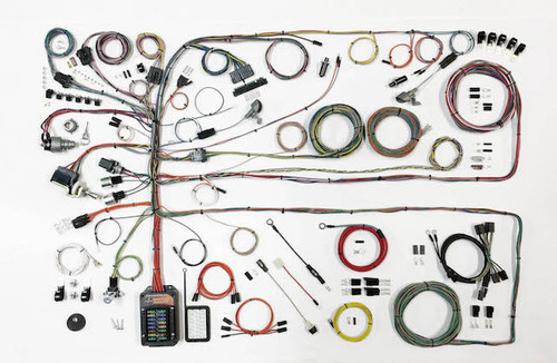 American Autowire 510651 57-60 Ford Truck Wiring Harness