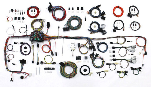 American Autowire 510706 83-87 GM P/U Wiring Harness