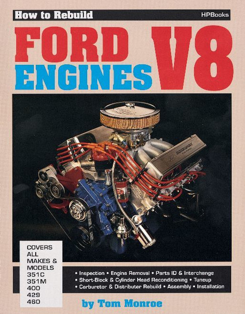 Hp Books HP36 Rebuild Ford V-8