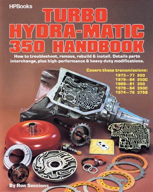 Hp Books HP511 Turbo Hydra-Matic 350