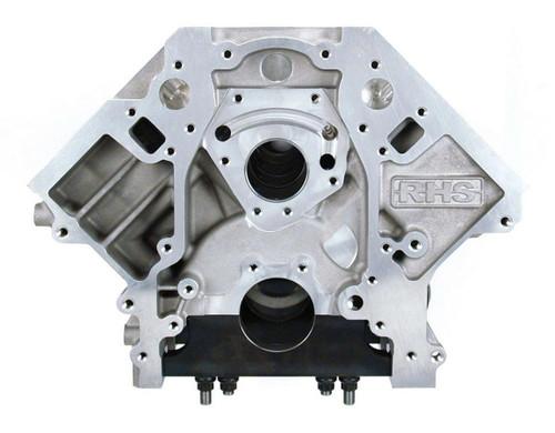 Racing Head Service 54903U LS Aluminum Block - 4.125 Bore 9.240 D/H
