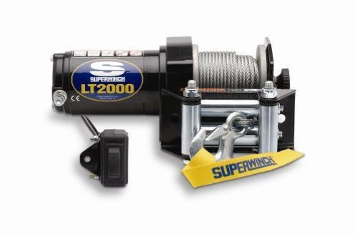 Superwinch 1120210 LT2000-2000# ATV Winch w/Roller Fairlead