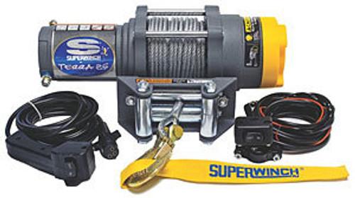 Superwinch 1125220 ATV 2500-2500# Winch w/ Roller Fairlead