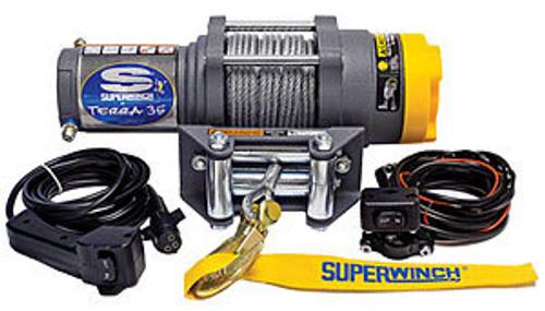 Superwinch 1135220 ATV 3500-3500# Winch w/Roller Fairlead