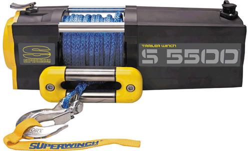 Superwinch 1455201 S5500-5500# Winch w/Roller Fairlead