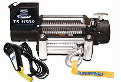 Superwinch 1511200 11500# Winch w/Roller Fairlead & 12ft Remote