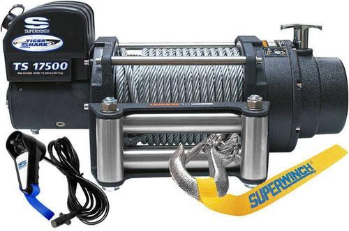 Superwinch 1517200 Tiger Shark 17500# Winch w/Roller Fairlead