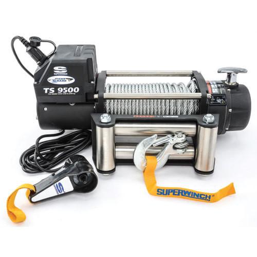 Superwinch 1595200 9500# Winch w/Roller Fairlead & 12ft Remote