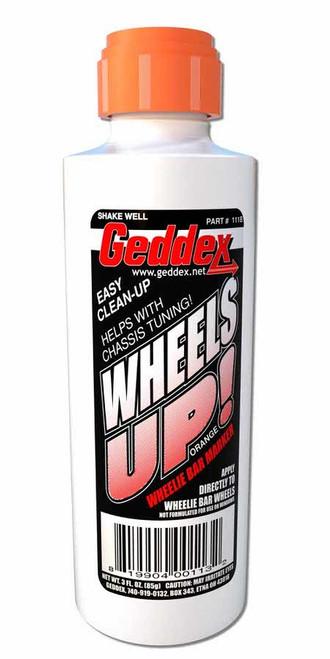 Geddex 111B Wheels Up Wheelie Bar Marker Orange 3oz Bottle