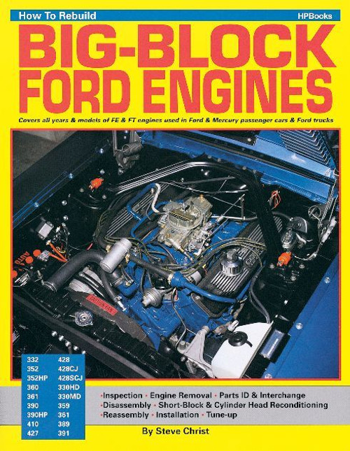 Hp Books HP708 Rebuild fe Ford
