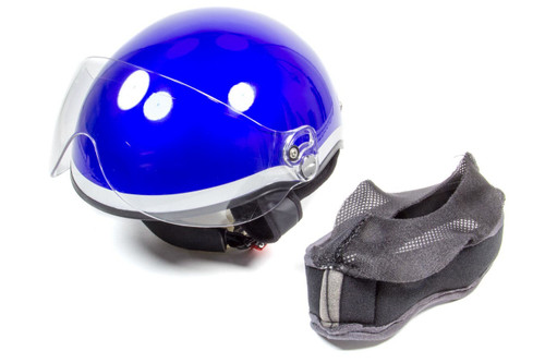 Head Pro Tech 1003 Helmet Paramedic EMT1 Royal Blue XXS-XS 52-55
