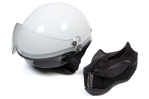 Head Pro Tech 1006 Helmet Paramedic EMT1 White Blue XXS-XS 52-55