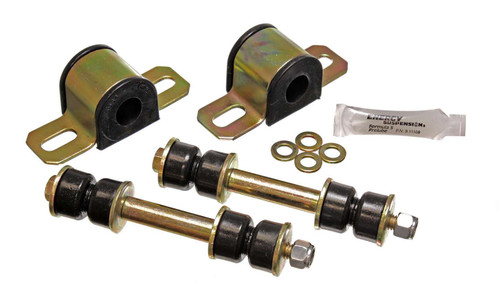Energy Suspension 3-5146G Gm 23mm Rr Stab Bushing Set Black