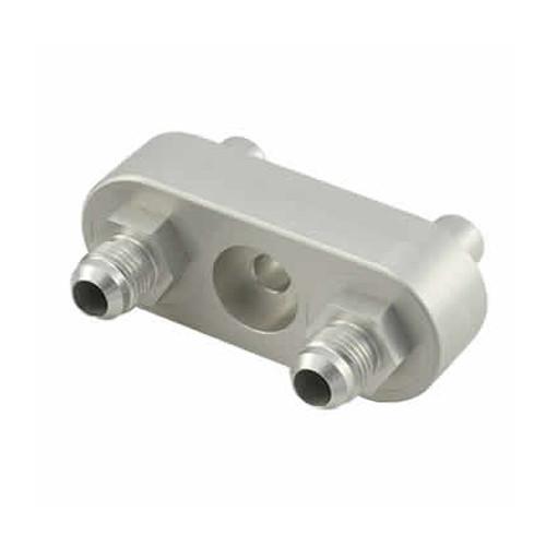 Bowler Performance Transmissions 6L80CMA-0C GM 6L80E Cooler Manifold Set Converts To -6 Clear