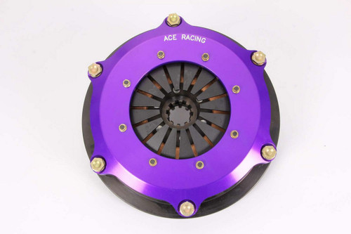 Ace Racing Clutches R725003K2 7.25in Clutch Assy 2 Disc 10 Spline