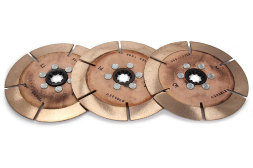 Ace Racing Clutches R725103K3 Clutch Pack 7.25in 3 Disc 10 Spline