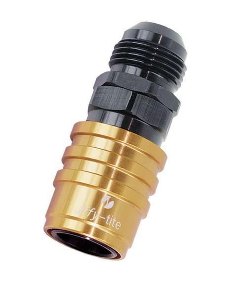 Jiffy-Tite 51410 Q/R #10 Male Socket Gold/Black
