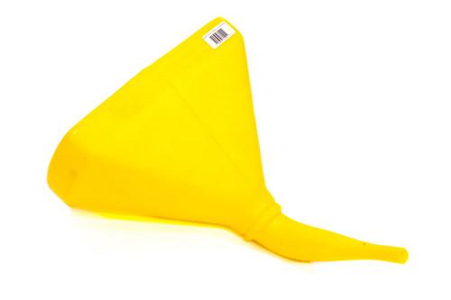 Scribner 6115Y Funnel - 14in 45 Deg. D-Shape Yellow