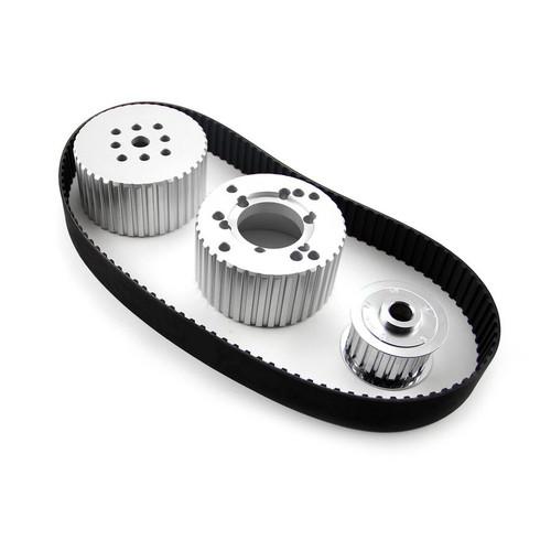 Speedmaster PCE415.1001 Gilmer Belt Drive Kit SBC w/Short Water Pump