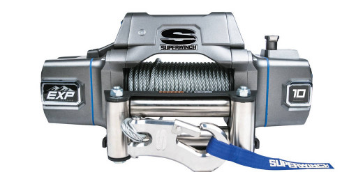 Superwinch S102737 EXP8I 10000 Lb Winch Wir Rope Roller Fairlead