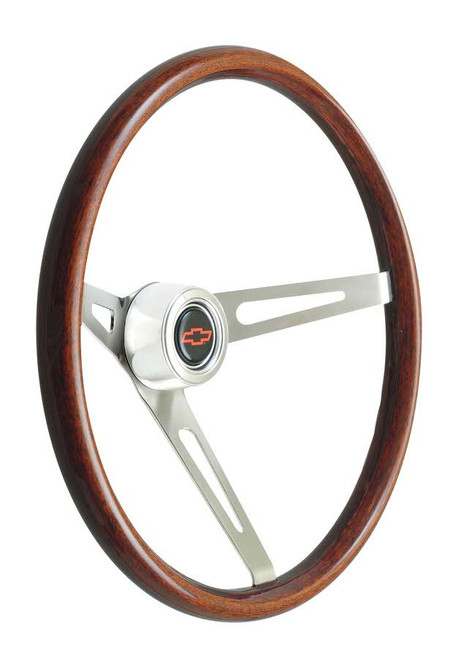 Gt Performance 36-5459 Steering Wheel GT Retro Wood Dark Finish