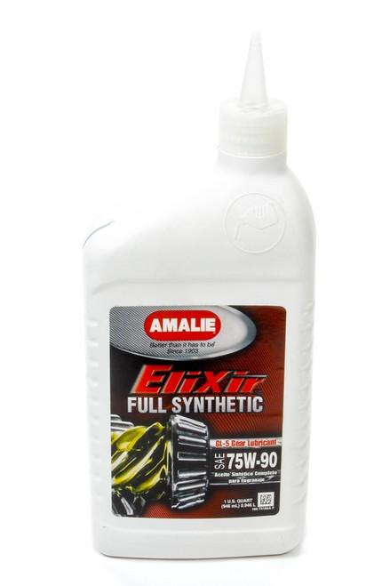 Amalie 73166-56 Elixir Full Syn GL-5 75w 90 Gear Oil 1Qt