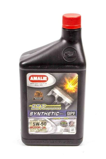 Amalie 75616-56 PRO HP Syn Blend 5w50 Oil 1Qt