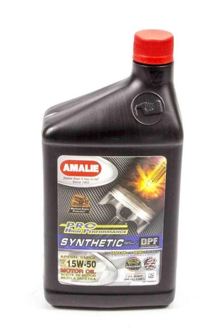 Amalie 75636-56 PRO HP Syn Blend 15w50 Oil 1Qt