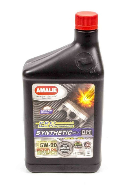 Amalie 75646-56 PRO HP Syn Blend 5w20 Oil 1Qt
