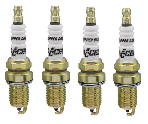 Accel 0786-4 Spark Plugs 4pk