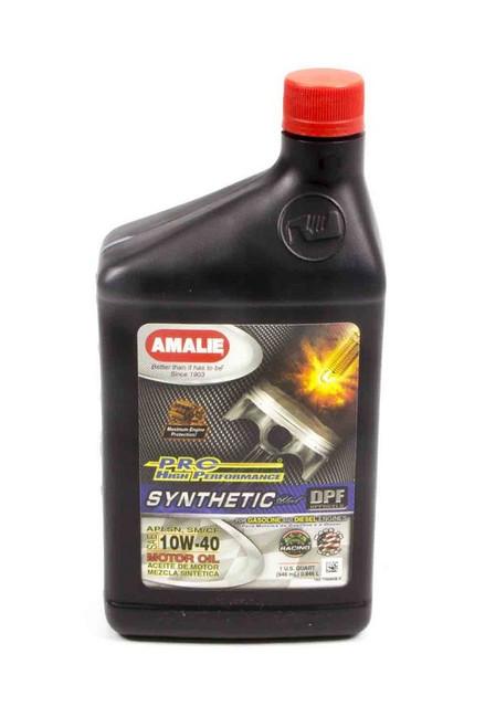 Amalie 75686-56 PRO HP Syn Blend 10w40 Oil 1Qt