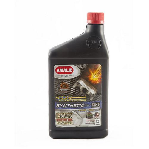 Amalie 75696-56 PRO HP Syn Blend 20w50 Oil 1Qt