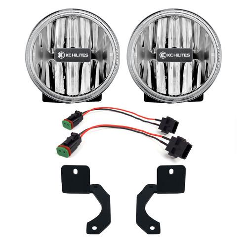 Kc Hilites 509 18-   Jeep Wrangler JL G4 LED Amber Fog Lights