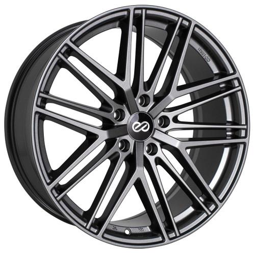 Enkei 518-980-6535AP Phantom Anthracite Full Paint Performance Wheel 19x8 5x114.3 35mm Offset 72.6mm