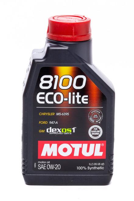 Motul Usa 108534 8100 0w20 Eco-Lite Oil 1 Liter