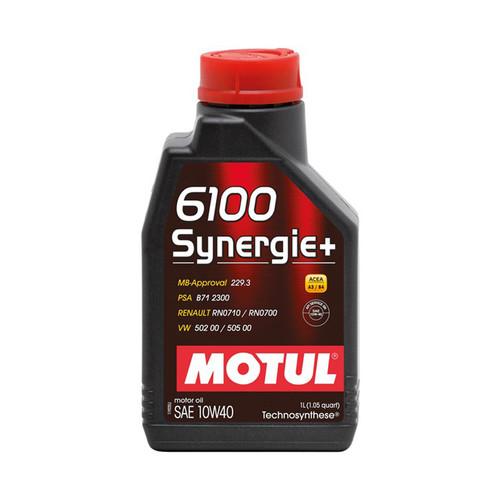 Motul Usa 108646 6100 Synergie 10w40 Oil 1 Liter