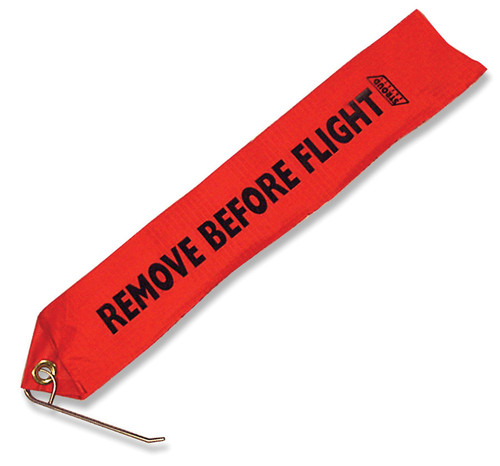 Stroud Safety 475 Remove Before Flight Tag