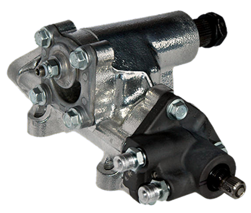 Turn One T12BASE Steering Box 600 Series 12:1 Ratio Raw