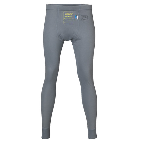 Walero 400018CGXS Base Layer Pant X-Small SFI3.3 & FIA Cool Grey