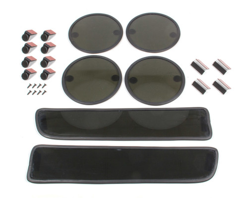 G.T. Styling 39R Vette 84-90 Turn/Tail w/ Rubber Blackout (6) pcs