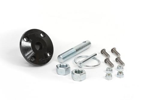 Daystar Products International KU71104BK Hood Pin Kit Black Single Pin