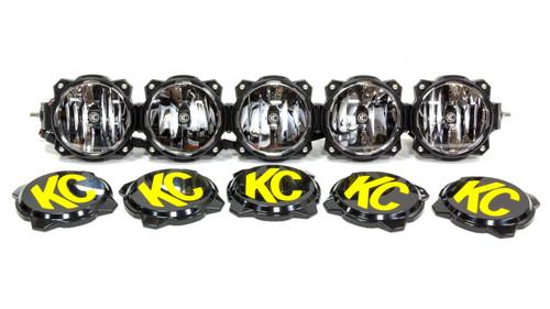 Kc Hilites 91306 Pro6 Gravity LED Light Bar 5 Light 32in