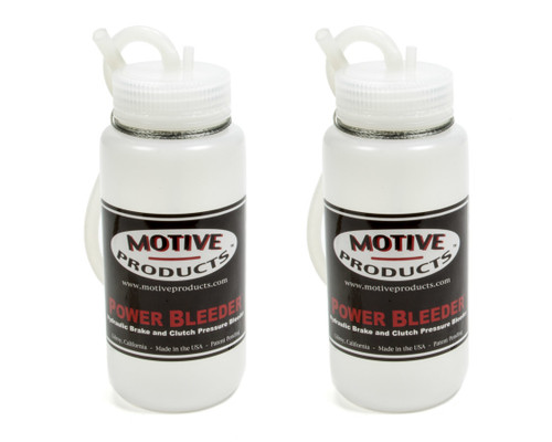 Motive Products 1820 Brake Fluid Catch Bottle Kit 2 Bottles