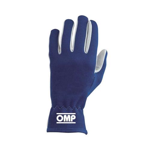 Omp Racing, Inc. IB702BM Rally Gloves Blue Size M